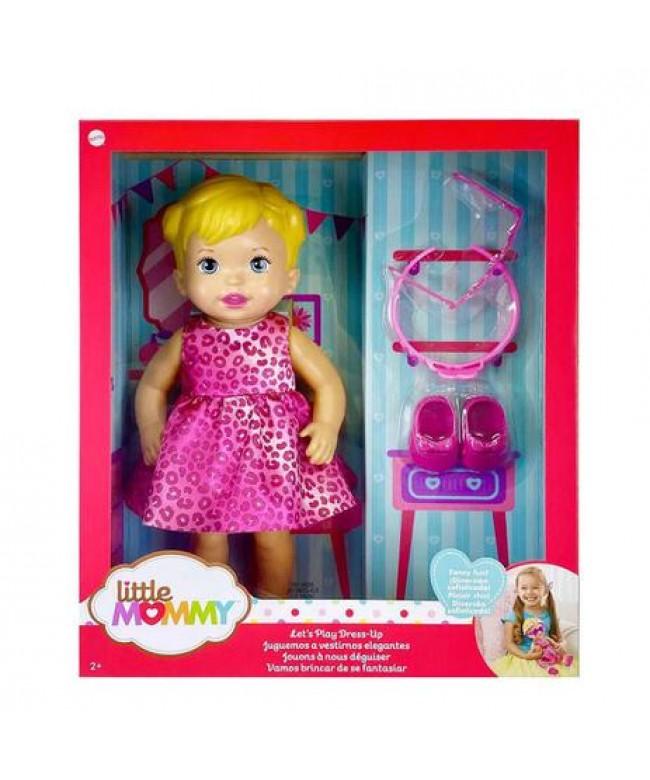 Boneca Little Mommy vamos brincar de se fantasiar Mattel GXT00