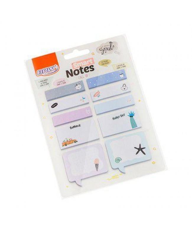 Bloco smart notes call up verão 10 blocos com 25fl - BRW
