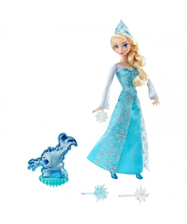 Boneca Disney Frozen - Elsa em Ação - Mattel