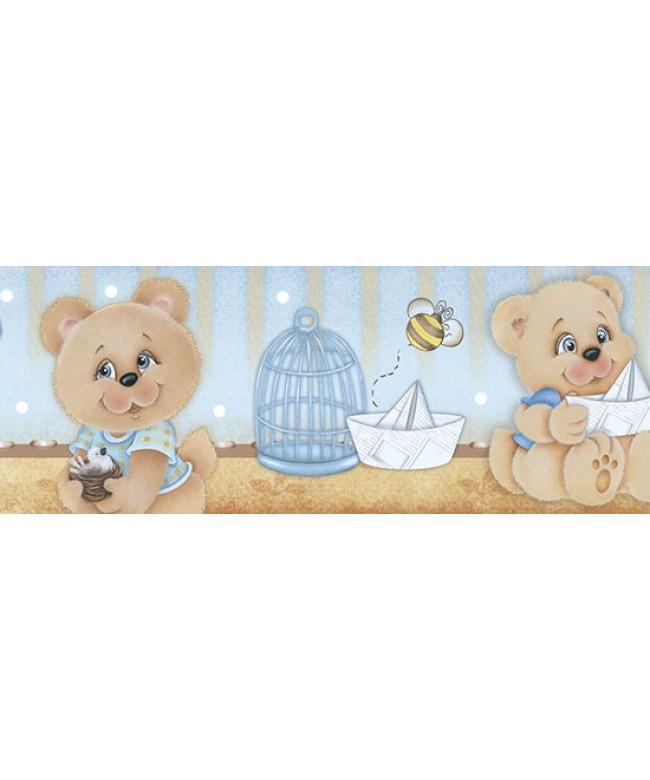 Barra adesiva IV - Urso baby masc - BDA-IV-607