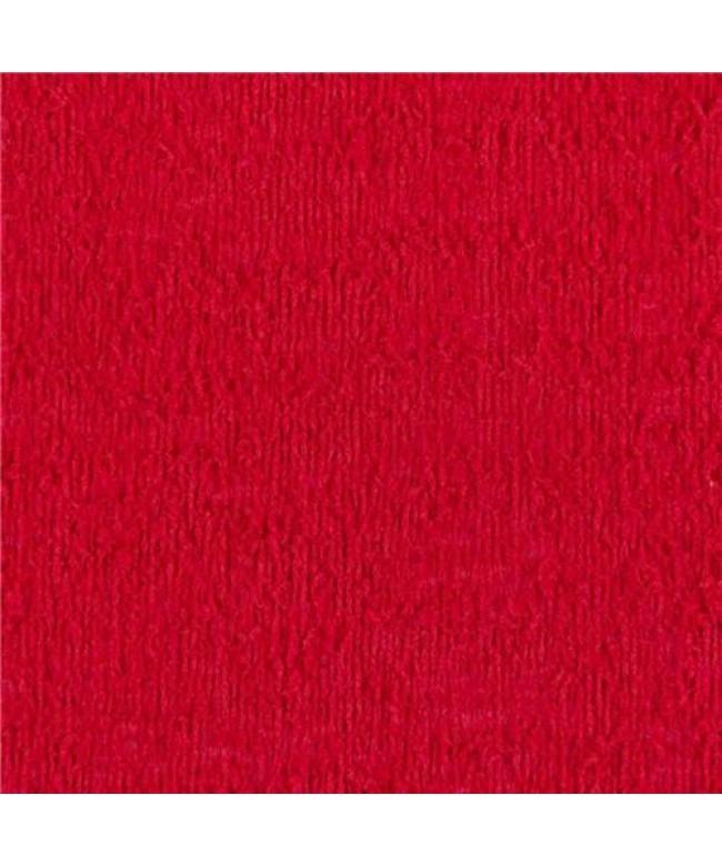 placa em EVA atoalhado Vermelho 48x40cm 2mm